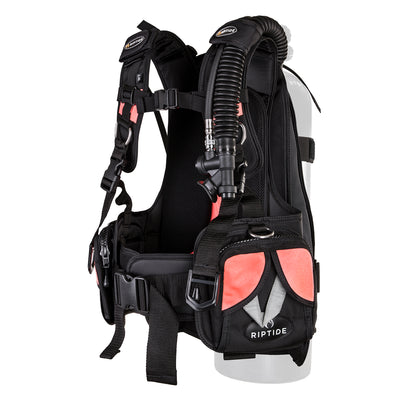 Riptide Mira Lightweight Women's Back Mount BCD Weight Integrated