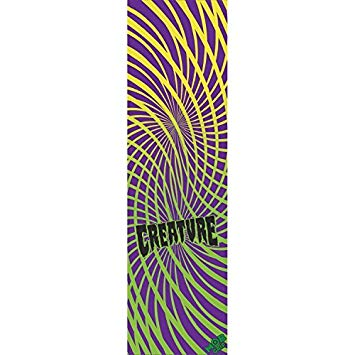 "Mob Creature Hippy Skull Assorted Graphic 5 Skateboard Grip tape 9"" x 33"""