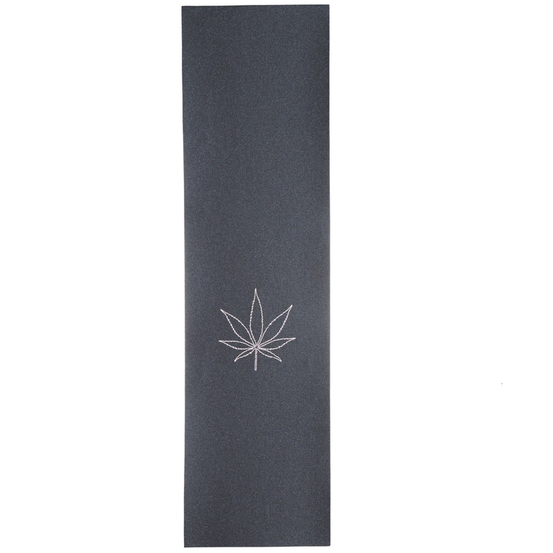 "Mob Black Lasercut Weed Leaf Skateboard Grip Sheet 9"" x 33"""