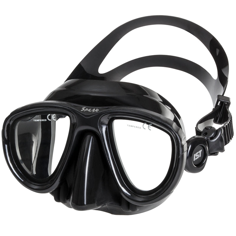 IST SPEAR Twin Lens Ultra Low Volume Spearfishing Mask