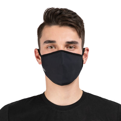 NonZero Gravity SilTex Antibacterial Performance Mask- Black