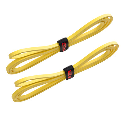 NonZero Gravity Latex-Free Power Resistance Bands Light-Intensity Yellow 10 LBS (Set of 2)