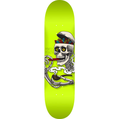 Powell Peralta 8.5x 32.08 Inch Curb Skelly Lime Skateboard Deck