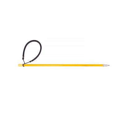 Trident Rubber Sling 20 Inch Solid Fiberglass Pole Spear, 6mm Male End