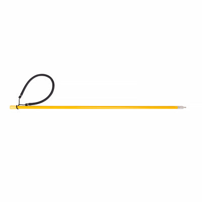Trident Rubber Sling 28 Inch Solid Fiberglass Pole Spear, 6mm Male End