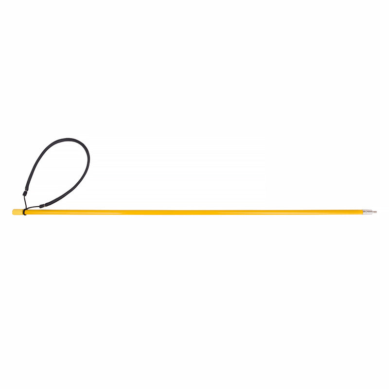 Trident Rubber Sling 36 Inch Solid Fiberglass Pole Spear, 6mm Male End