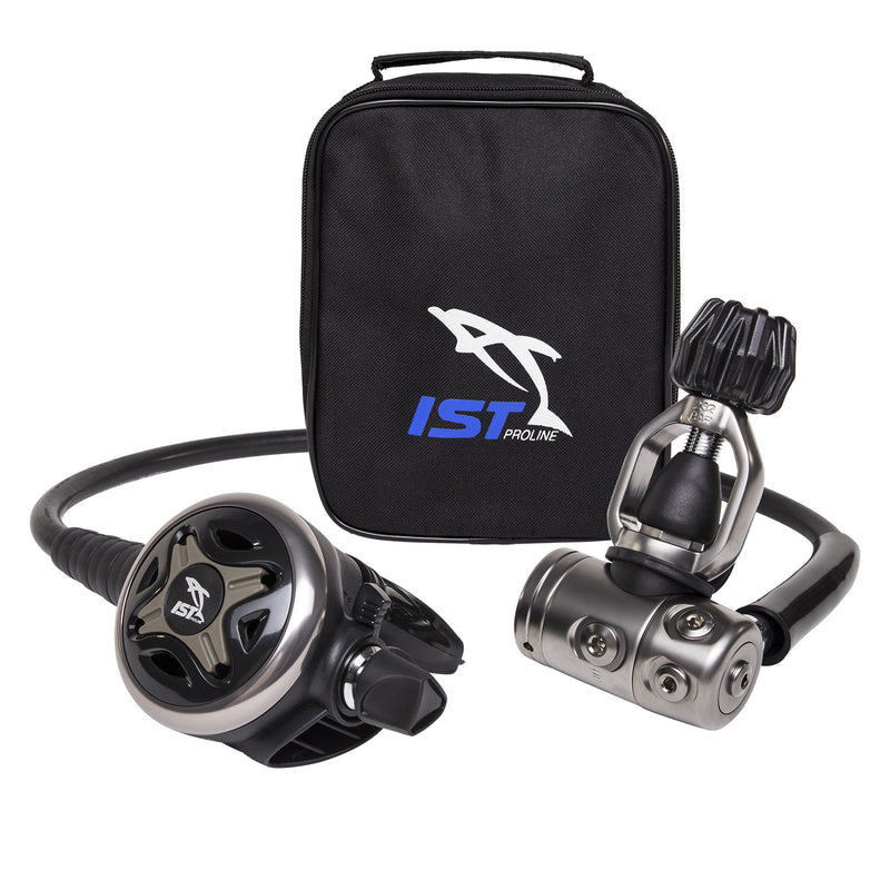 IST Premium Balanced Diaphragm Yoke Style Regulator Bundle, 5 IP Ports