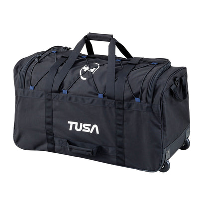 TUSA Large Heavy Duty Diver's Roller Duffel with Telescopic Handle