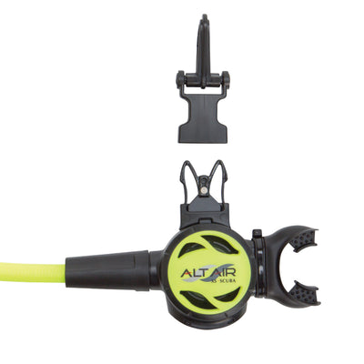 XS SCUBA AltAir Octopus Inline Mouthpiece with Miflex 36 Inch Hose