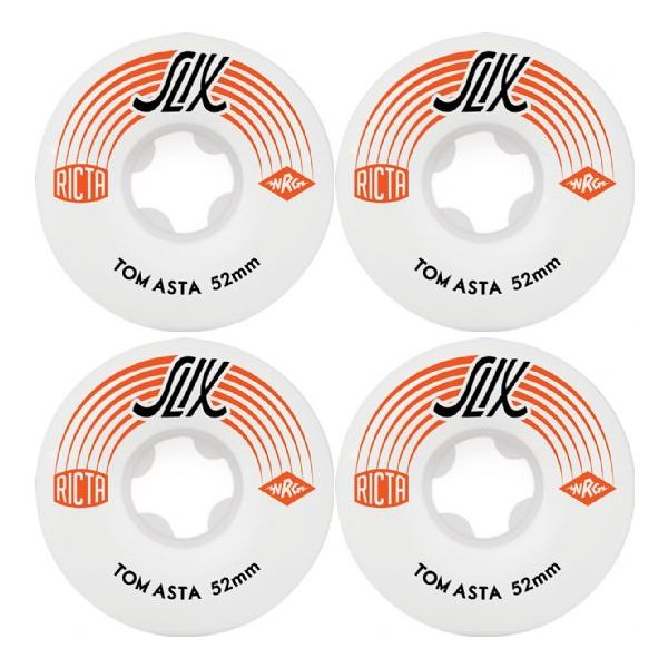 Ricta 52mm Tom Asta SLIX 81b Skateboard Wheels (4 Pack)
