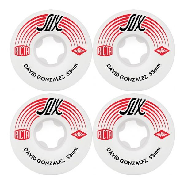 Ricta 53mm David Gonzalez 81b Skateboard Wheels (4 Pack)