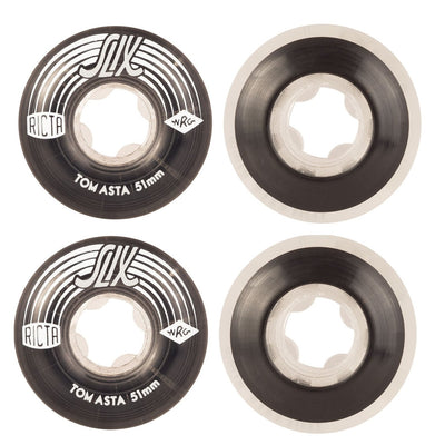 Ricta Asta Crystal Slix Skateboard Wheels | 51mm 99A