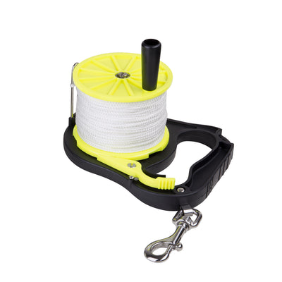 IST 270ft. (80M) Diver Guide Line Reel with Winding Handle & Ratchet Lock