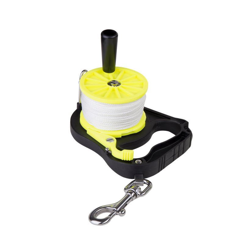 IST 150ft. (45M) Diver Guide Line Reel with Winding Handle & Ratchet Lock