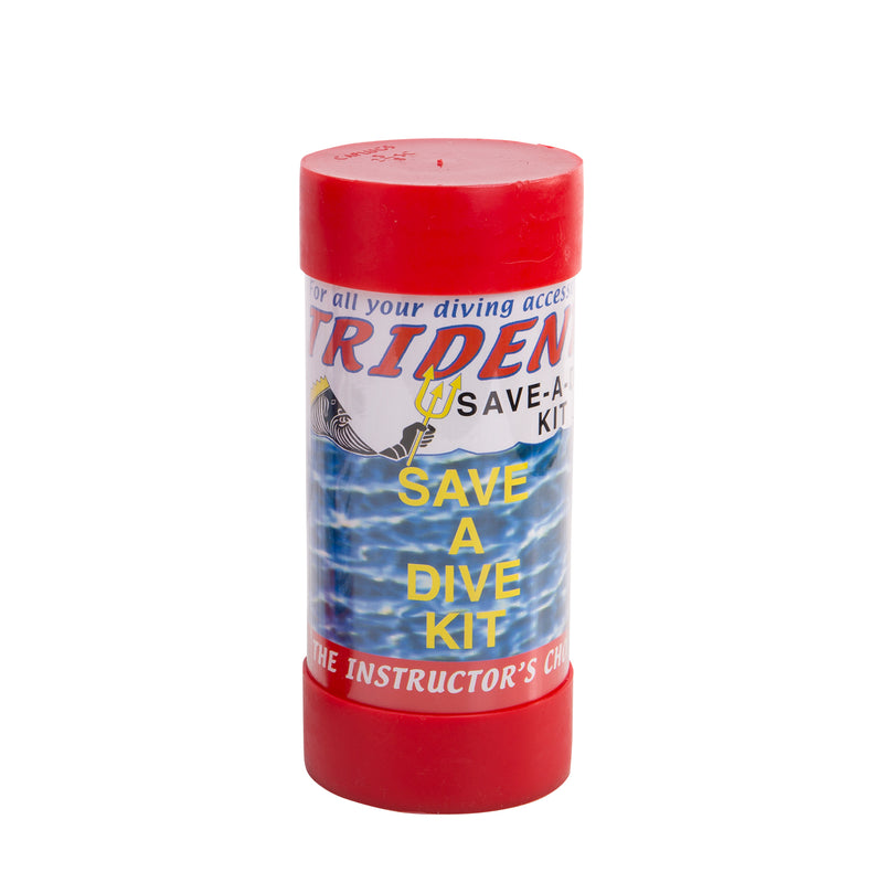 Trident 10 Piece Black Rubber Save A Dive Kit In A Tube