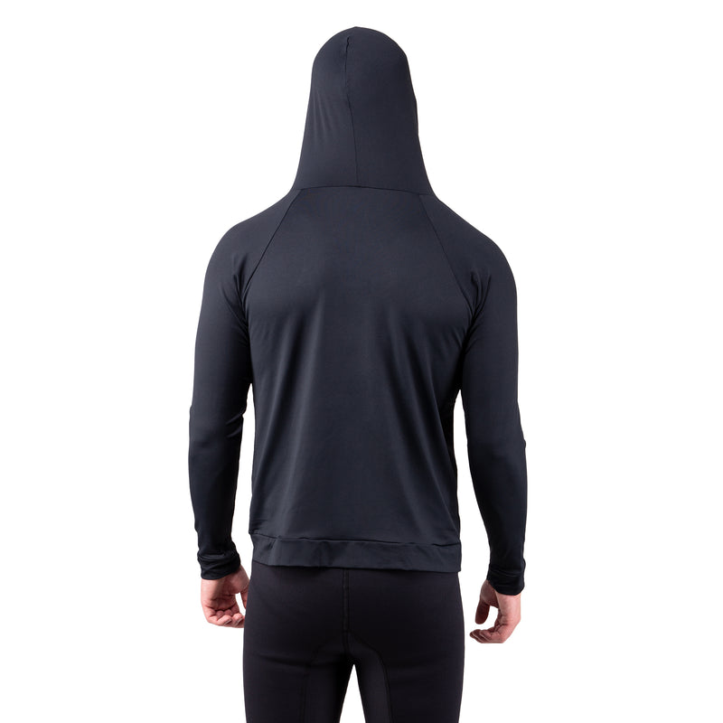 IST Men's UV Rash Guard Hooded Jacket