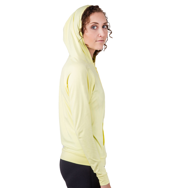 IST Women's UV Rash Guard Hooded Jacket