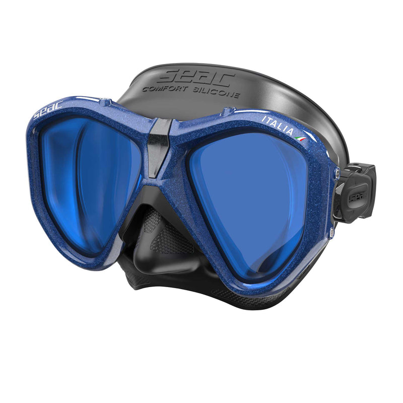 SEAC Italia Mirrored Lens Dive Mask