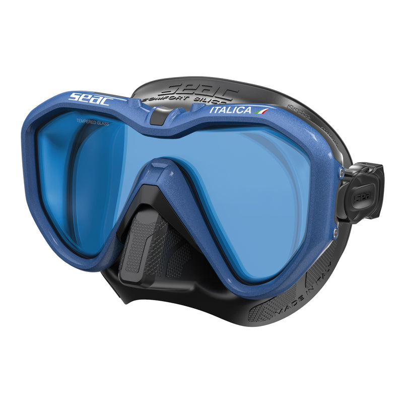 SEAC Italica Mirrored Lens Dive Mask