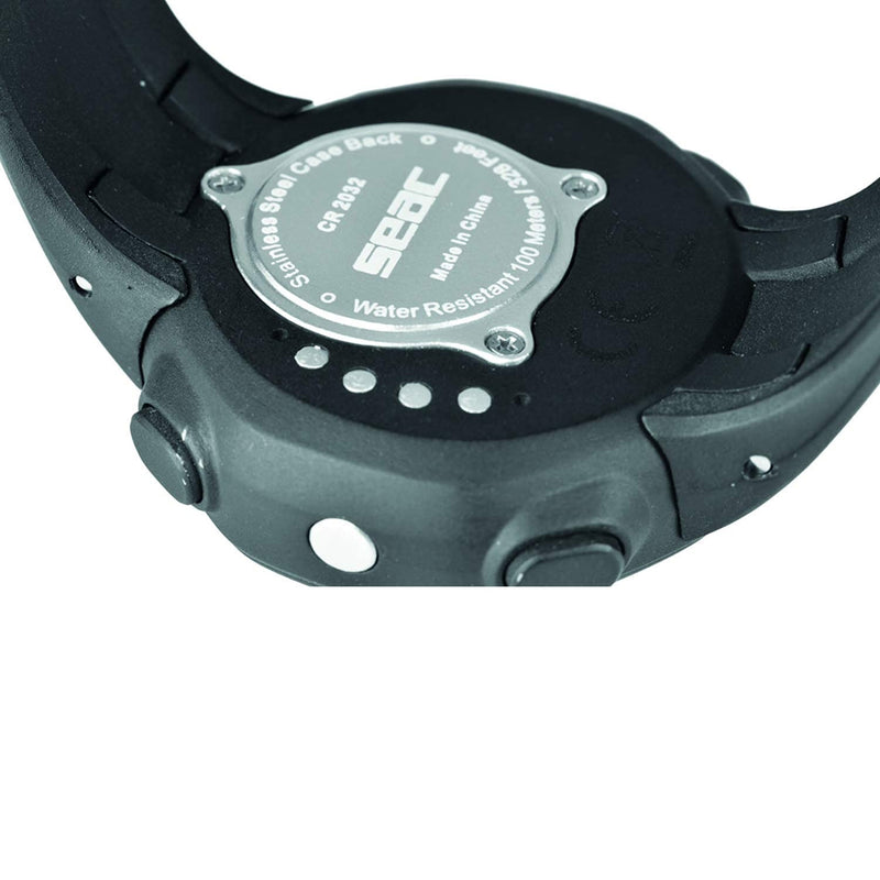 SEAC Driver, Wrist-Mount Freediving Computer with Data Download System