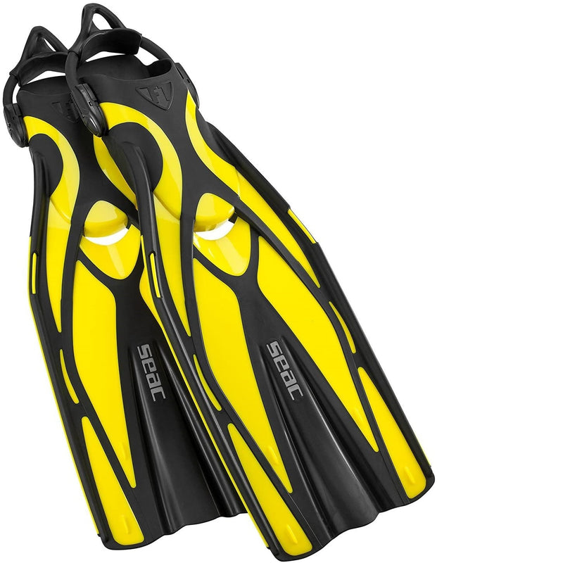 Seac F1 S, Ultra Light Scuba Diving fins with Sling Strap