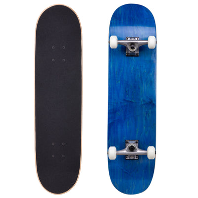 "Runner Complete Skateboard | 8"" Blue"