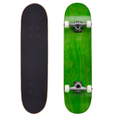 "Runner Complete Skateboard | 8"" Green"