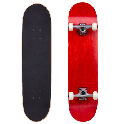 "Runner Complete Skateboard | 8"" Red"