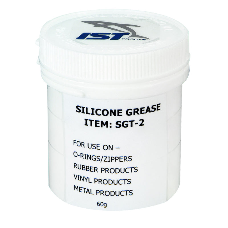 IST SGT-2 Silicone Grease for Scuba Gear, Large 2.12oz (60g)