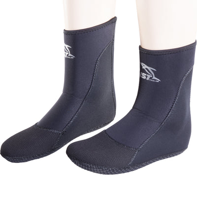IST SK8 4mm Super Stretch Neoprene High-Cut Diving, Freediving Socks