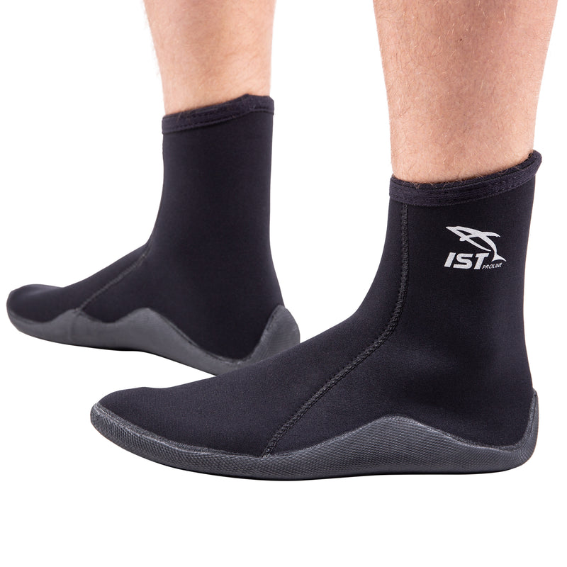 3mm Neoprene Socks with Vulcanized Sole