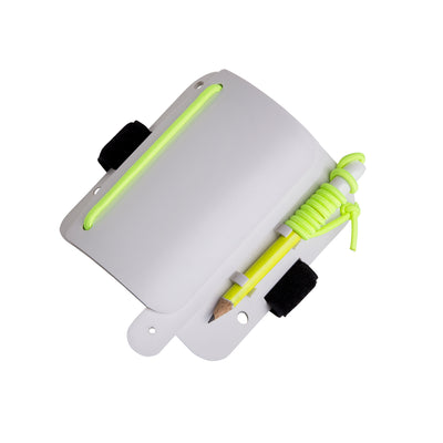 Trident Glow In The Dark Curved, Wrist Mounted Multilayer Scuba Slate