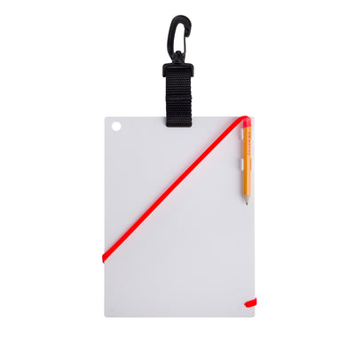 "Trident Underwater Writing Slate with Clip 6 x 8"" (15.24 x 20.32cm)"