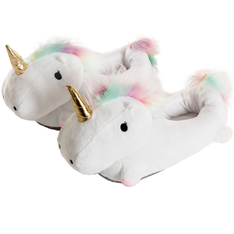 SMOKO Multicolor Light Up Unicorn Slippers