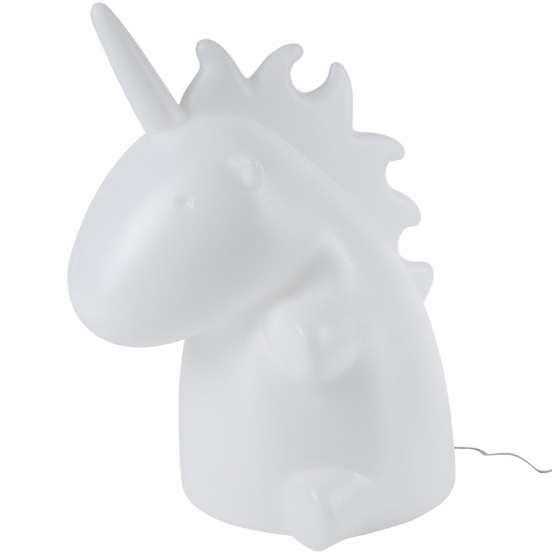 SMOKO Giant Multicolor LED Unicorn Lamp with Remote Control