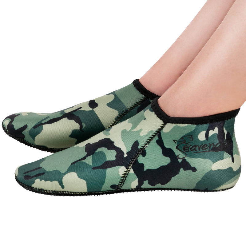 3mm camouflage neoprene socks
