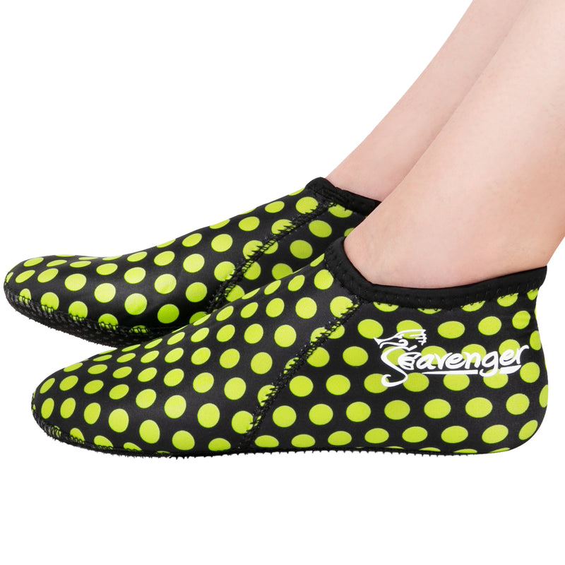 3mm polka dot neoprene socks