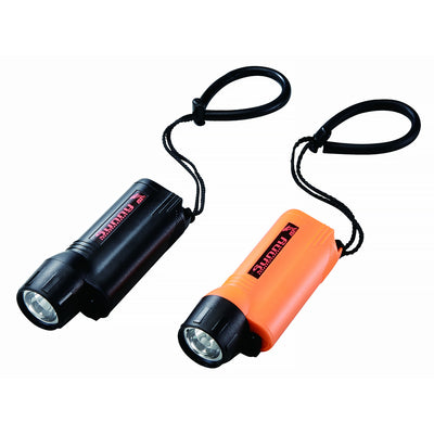 IST T16 High-Powered LED 3 Watt Dive Torch, Depth Rated to 196 Feet (60m)