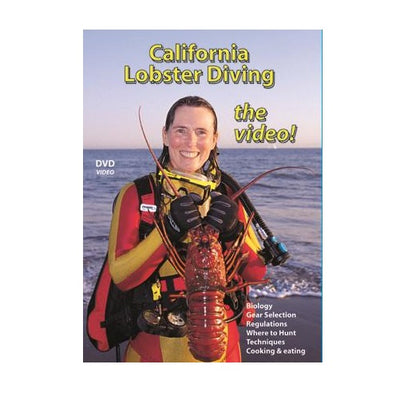 California Lobster Diving Dvd