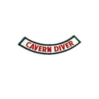 Cavern Diver Chevron Patch