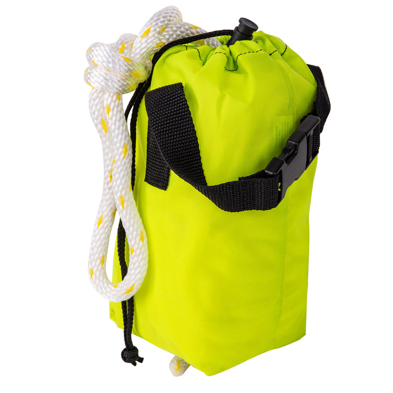 "Trident Safety Throw Bag with 70 Feet 3/8"" Rope, Carry Strap"
