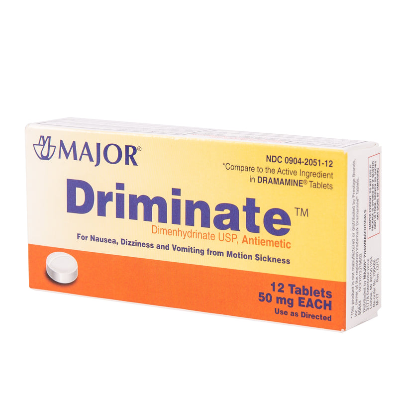 Driminate Motion Sickness (Same As Calmex)