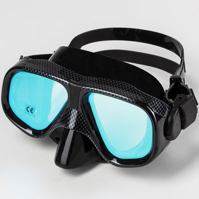 GRAPHITE LOW VOLUME MASK WITH MIRROR LENS