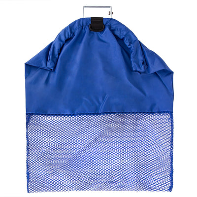 Trident Wire Handle Game, Salvage Bag with Mesh Bottom and D Ring