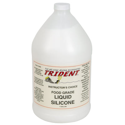 Trident Food Grade Liquid Silicone Lubricant and Conditioner, 1 Gallon