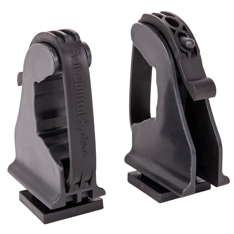 Roll Control Systems V-Twist Lock Spear Gun Brackets, Set of 2