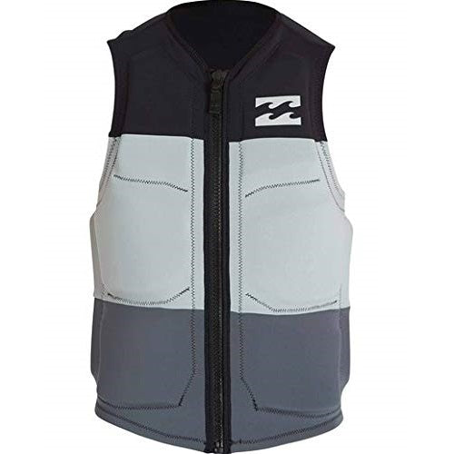 Billabong Tri Bong Wake Vest- Black, Grey
