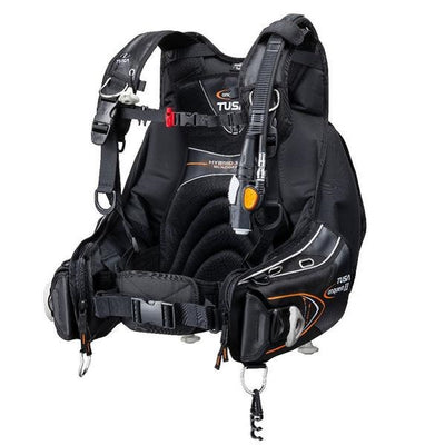 TUSA Conquest II Premium, Integrated Weight Jacket BC with Active Purge Assist