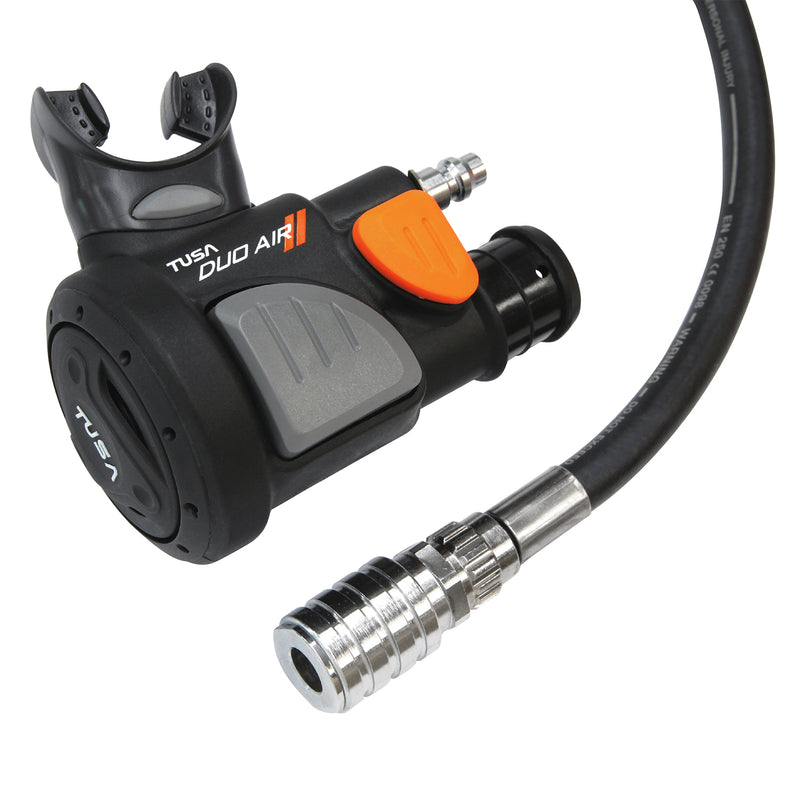 TUSA Duo Air II Combo Power Inflator, Diving Backup Regulator, Octopus