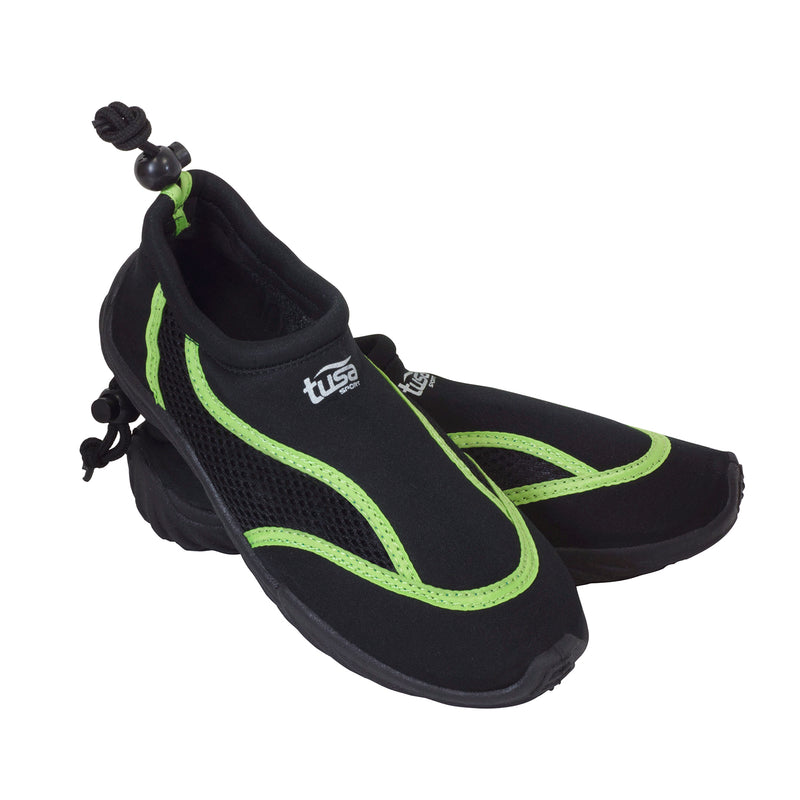 TUSA Aqua Shoe with Traction Sole, Locking Toggle Drawstring Cuff